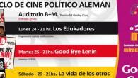 """Lunes 24 de agosto – Ciclo de Cine Político Alemán:""""Los Edukadores"""". Hora:21.00.Lugar:Auditorio […]"""